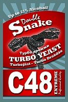 Дрожжи Double Snake Turbo C48 130гр.