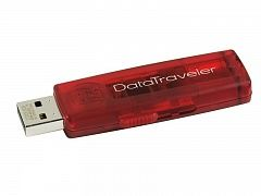 Flash USB 2.0 Flash Kingston 1Gb Data Traveler 100 red